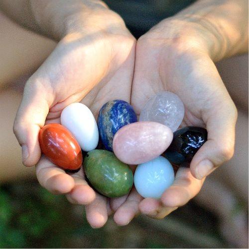 Kristalna jajčka - za vse boginje
