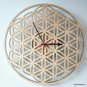 FLOWER OF LIFE WALL CLOCKS